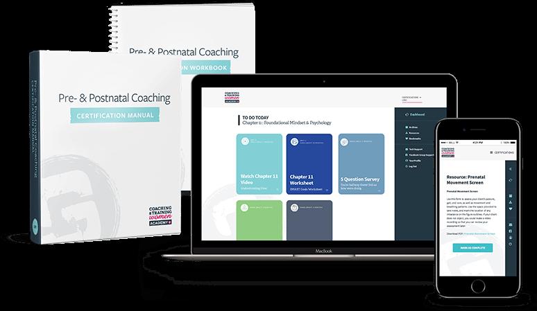 Pre- & Postnatal Coaching Certification